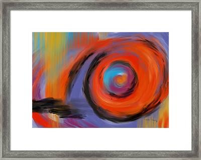Portal Of Optimistic Torment Framed Print