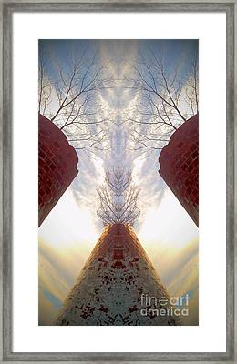 Portal Of The Silos Framed Print