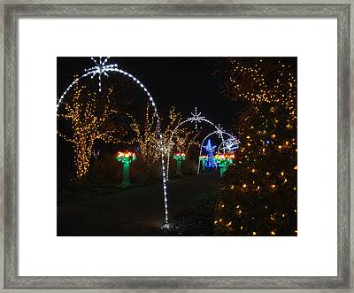 Portal Framed Print by Rodney Lee Williams