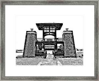 Portal Framed Print by Samuel Sheats
