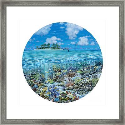 Portal To Paradise Framed Print