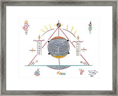 Portal To Prosperity Framed Print