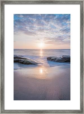Portal To The Sun Framed Print