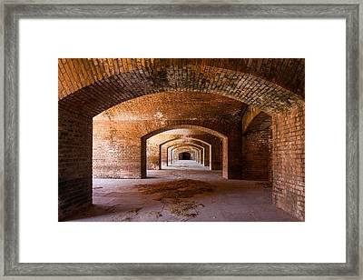 Portals Framed Print by Adam Pender