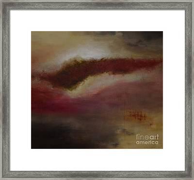Portance Framed Print by Caroline Boyer