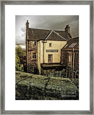 The Portcullis Framed Print