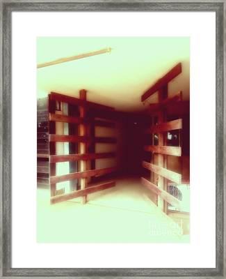 Portes Framed Print by Isabelle Mbore