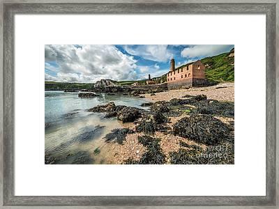 Porth Wen Brickworks Framed Print by Adrian Evans