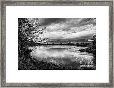 Porthmadog Lagoon Framed Print