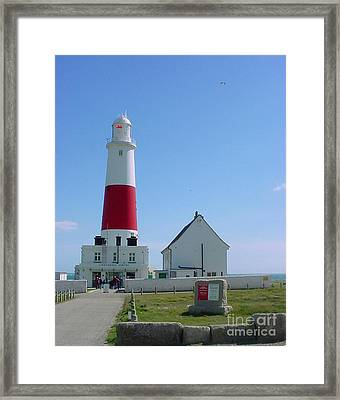 Portland Bill Lighthouse Framed Print by Terri Waters