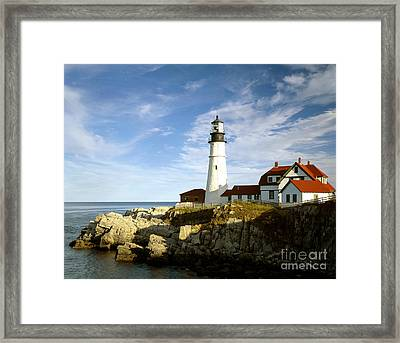 Portland Head Light, Maine Framed Print
