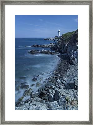 Portland Head Lighthouse Cape Elizabeth Maine Framed Print