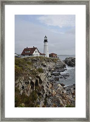 Portland Light Framed Print