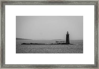 Portland Maine Lighthouse  Framed Print
