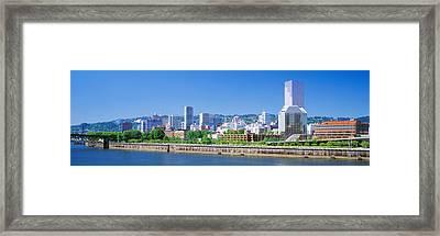 Portland Oregon Usa Framed Print