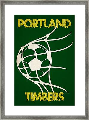 Portland Timbers Goal Framed Print