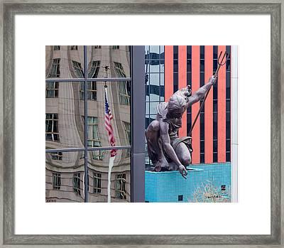 Portlandia Framed Print by Jean Noren