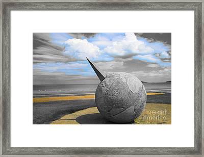 Portmanuck Sphere Ireland Framed Print by Jo Collins