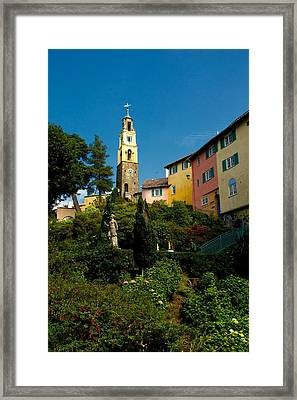 Framed Print featuring the photograph Portmerion by Stephen Taylor