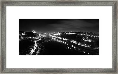 Porto @ Night Framed Print