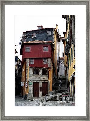 Porto Architecture Framed Print by John Rizzuto