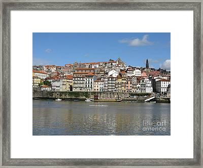 Framed Print featuring the photograph Porto by Arlene Carmel