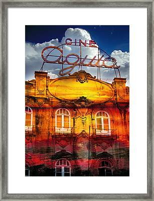 Porto Cine Aquia Framed Print by Skip Hunt
