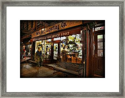 Porto Importing Co Framed Print by Lee Dos Santos