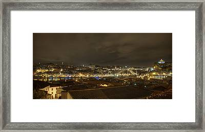 Porto Portugal From Taylor Winery Framed Print by Ed Cilley