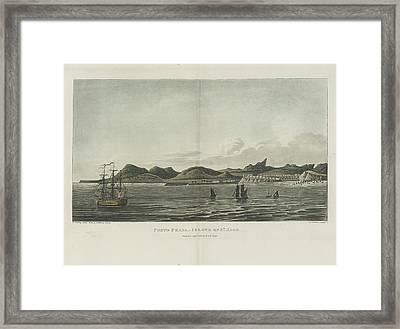 Porto Praya Framed Print by British Library