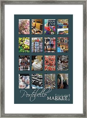 Portobello Market Framed Print
