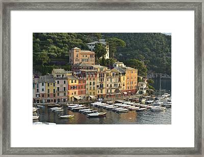 Portofino Framed Print by Christian Heeb