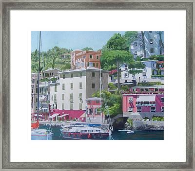 Portofino Framed Print by Constance Drescher