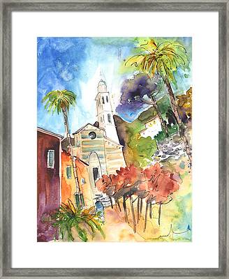 Portofino In Italy 05 Framed Print by Miki De Goodaboom