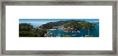 Portofino Italy Framed Print by Al Hurley