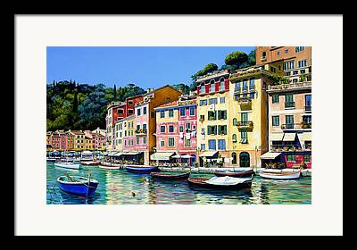 Genoa Framed Prints