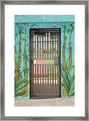 Porton Cerrado Framed Print by The Art of Alice Terrill