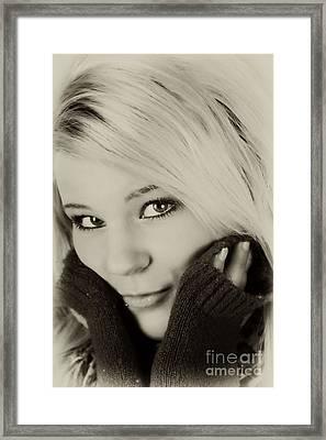 Portrait 1 Framed Print by Pit Hermann