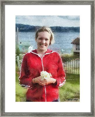 Portrait In Newfoundland Framed Print