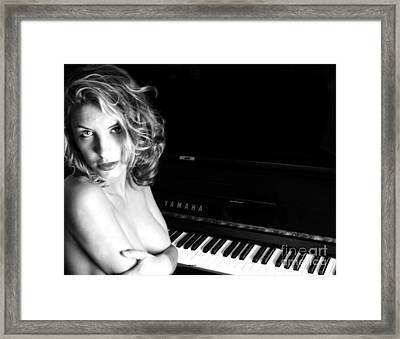 Portrait In Song Framed Print