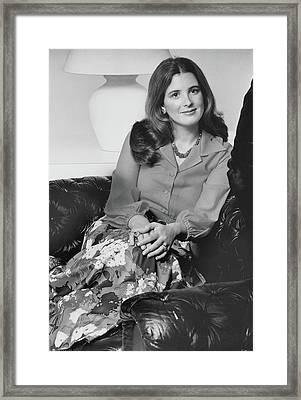 Portrait Leslie Crocker Snyder Framed Print