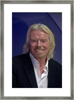 Portrait Of A Billionaire - Virgin Empire Builder Sir Richard Branson Framed Print