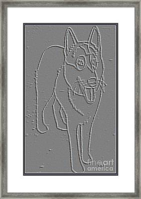 Portrait Of A Friend Poaf00000001 Framed Print by Pemaro