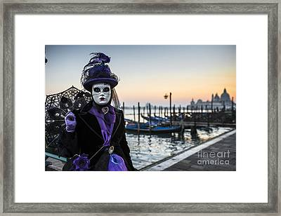 Portrait Of A Mask II Framed Print by Yuri Santin
