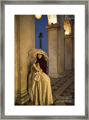 Portrait Of A Mask IIi Framed Print by Yuri Santin
