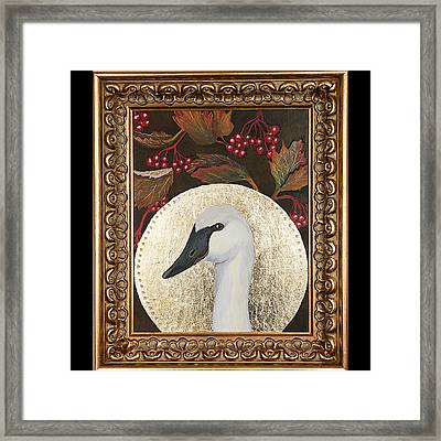 Portrait Of A Trumpeter Framed Print by Amy Reisland-Speer