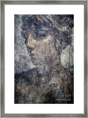 Portrait Of A Woman Framed Print by Kathleen K Parker
