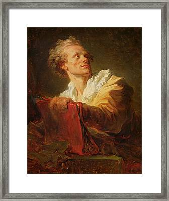 Portrait Of A Young Artist Framed Print