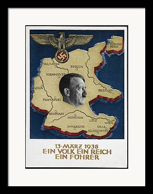 National Socialism Framed Prints