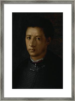 Portrait Of Alessandro De Medici, Anonymous Framed Print
